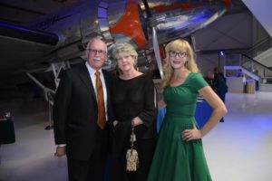 Doug Davidson & wife with Kate Marr standing together.