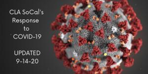 COVID-19 Virus photos Update CLA Response